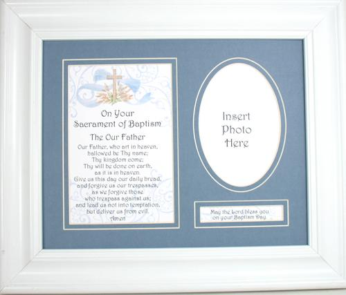 Baptism Plaque for Boy 10104G