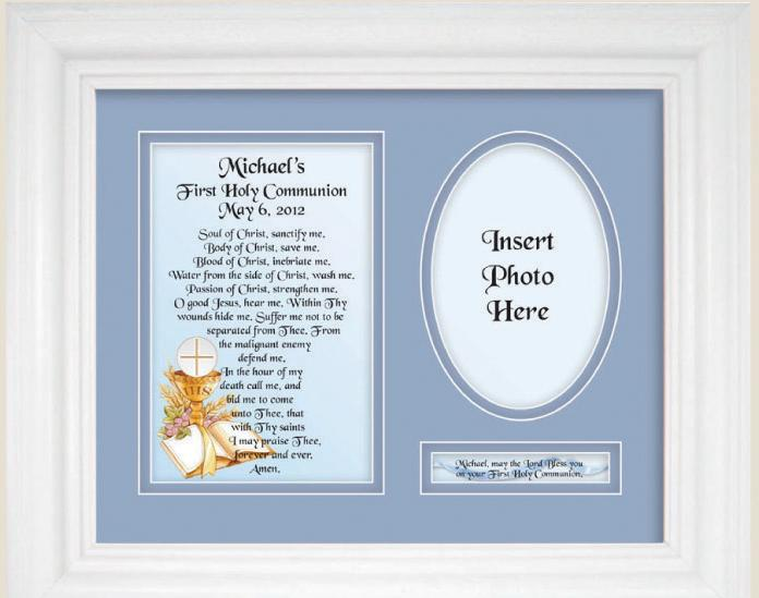 Personalized Communion  9x12 Plaque 10106