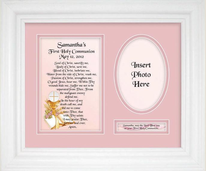 Personalized Communion  9x12 Plaque 10105