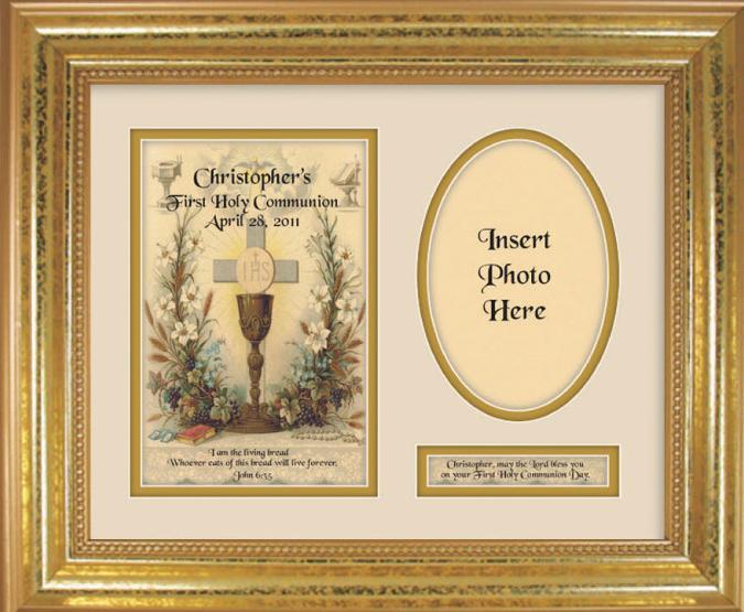 Personalized Communion  9x12 Plaque 10107