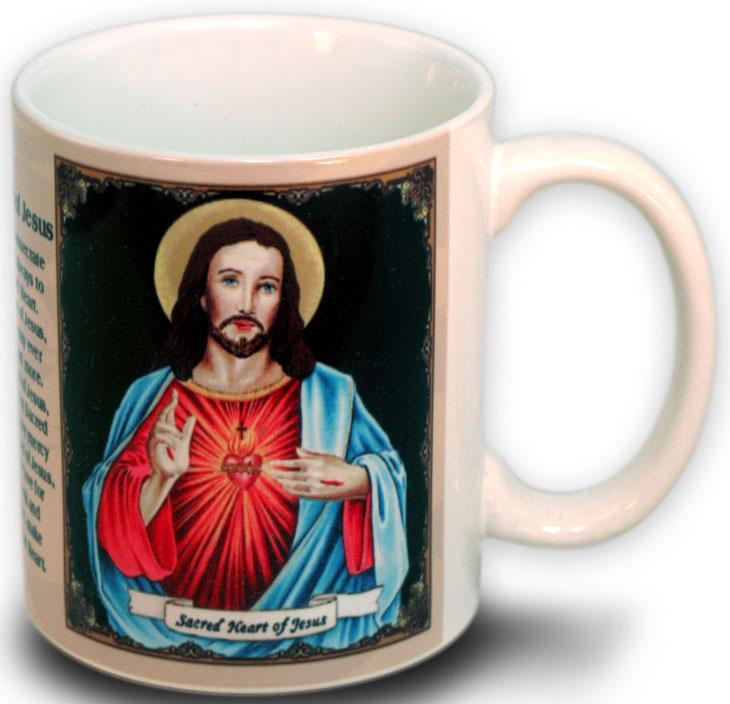 Sacred Heart of Jesus Mug11 Ounce #110SHJ