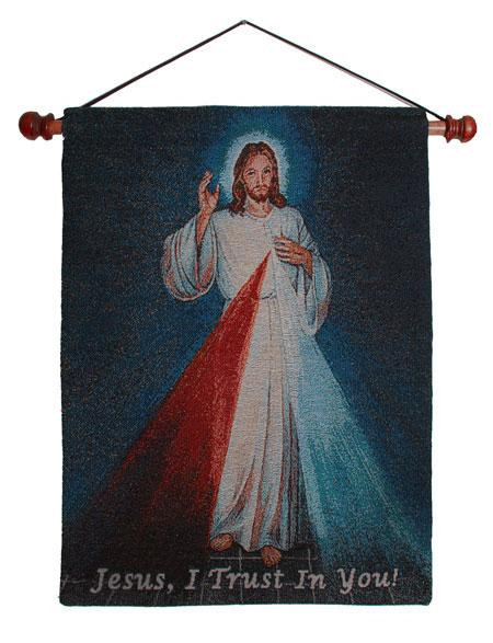 The Divine Mercy 13x18 Wall Hanging 1318-DM