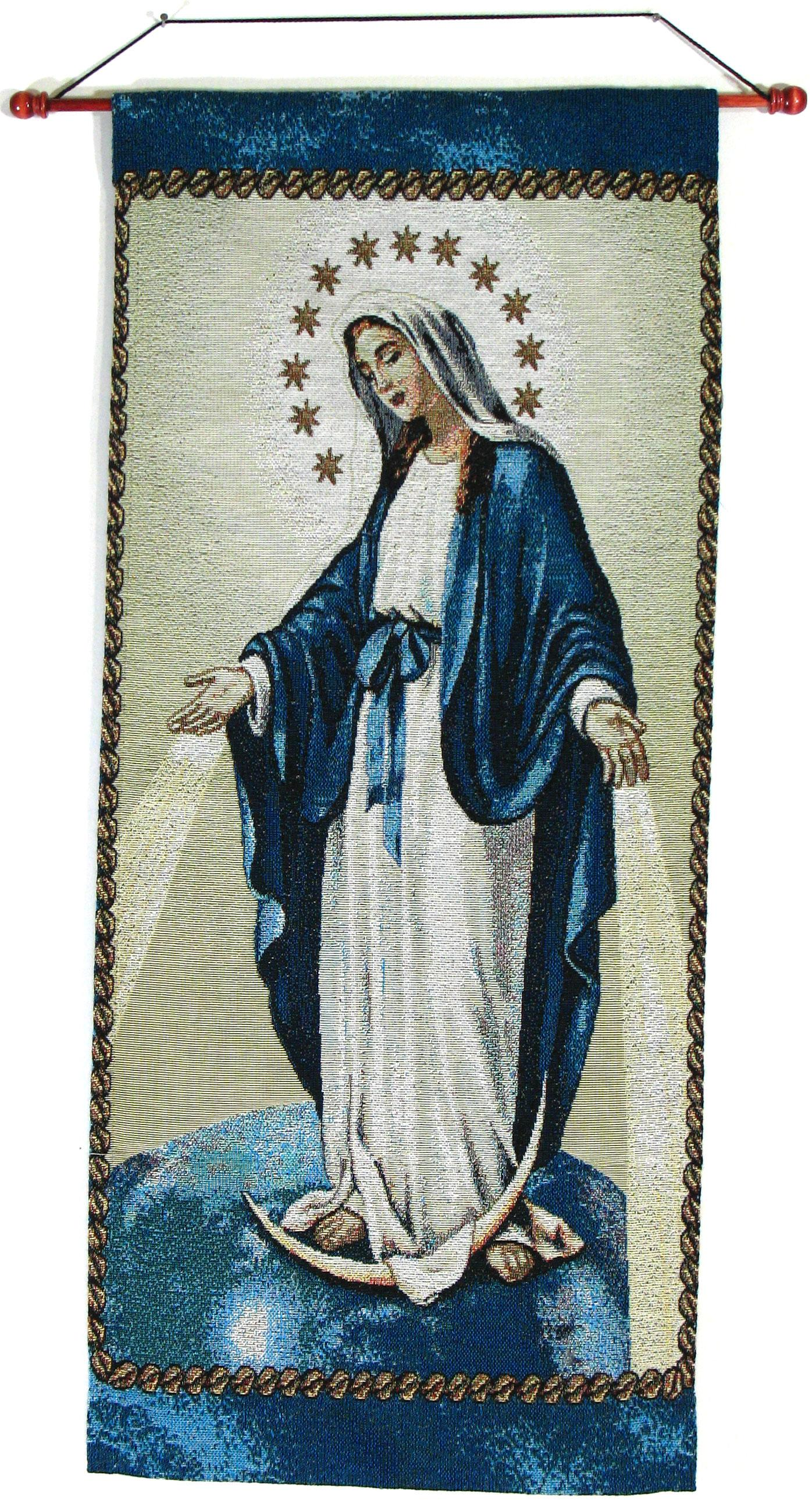 Our Lady of Grace 18x40 Wall Hanging #1840-OLG