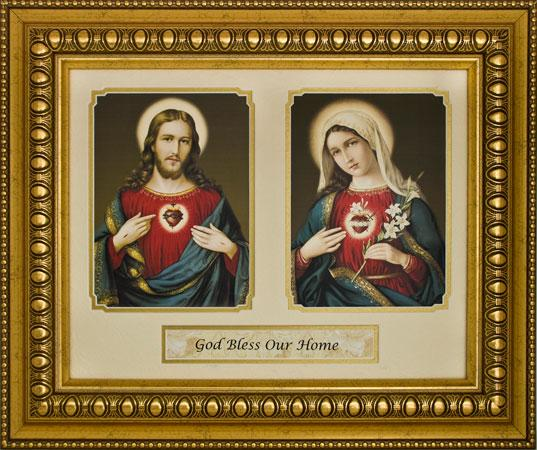 God Bless Our Home 15x18 Plaque #216-HB7
