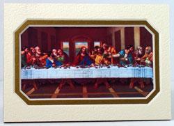 Last Supper 3x5 Prayerful Mat #35MAT-LS