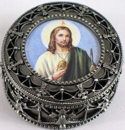 St. Jude Rosary Box #4892-STJ