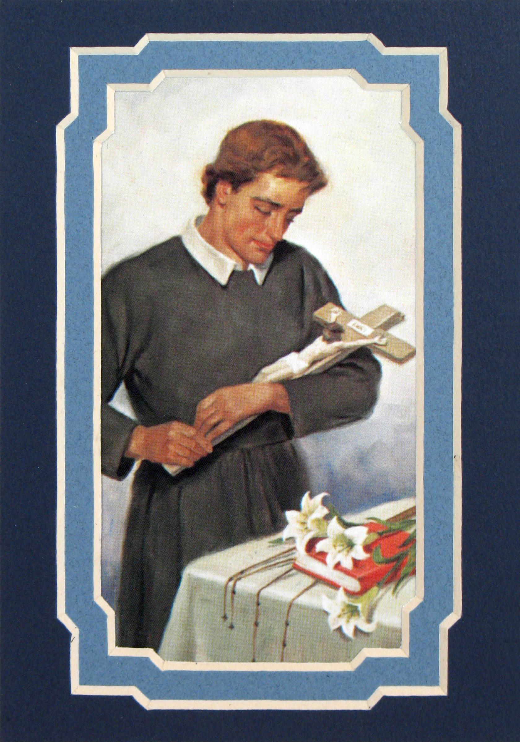 St. Gerard 3x5 Prayerful Mat #35MAT-STG