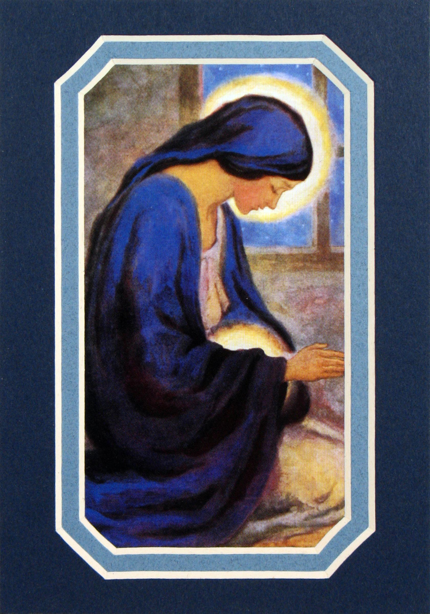 Our Lady of the Unborn 3x5 Prayerful Mat #35MAT-OLM