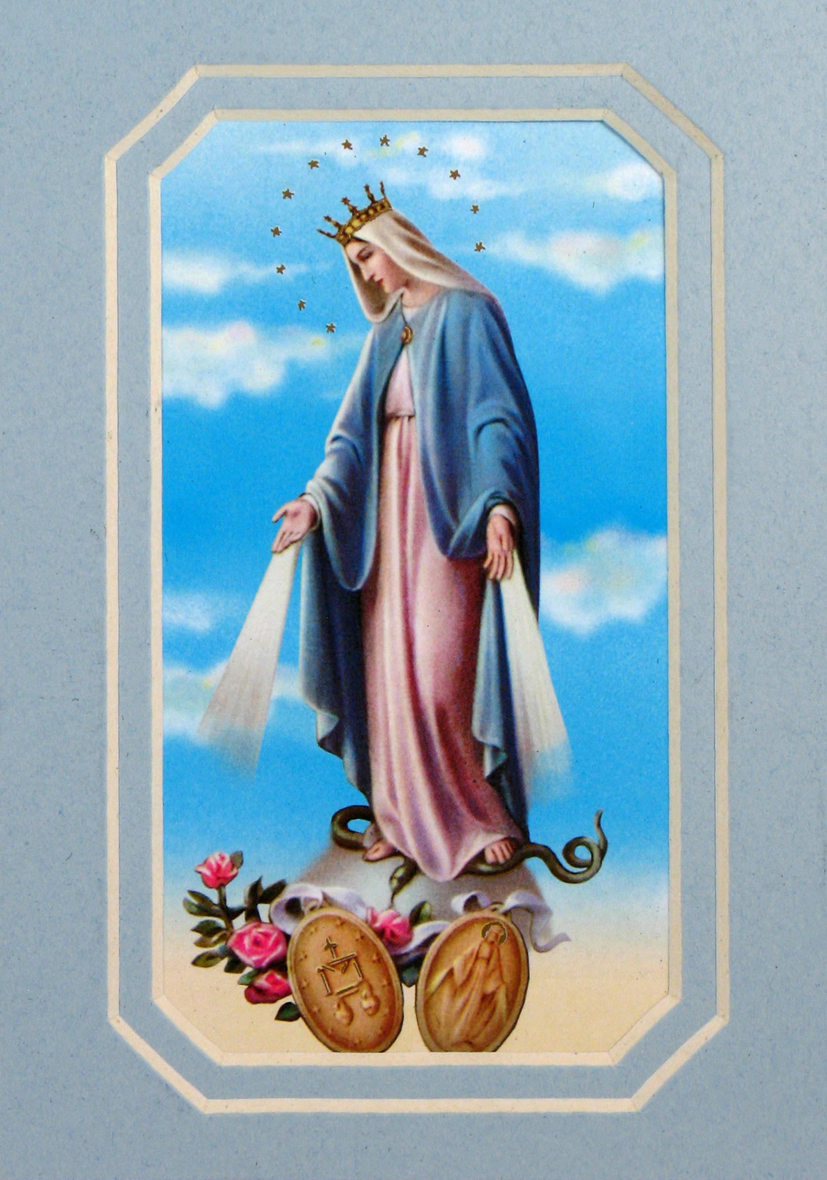 Miraculous Medal 3x5 Prayerful Mat #35MAT-MM