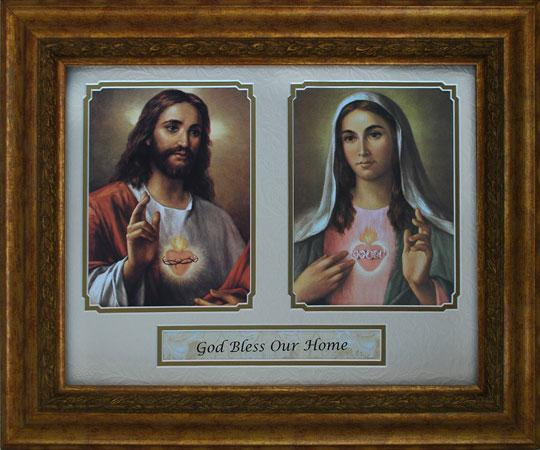 God Bless Our Home 14x17  Plaque #5480-HB4