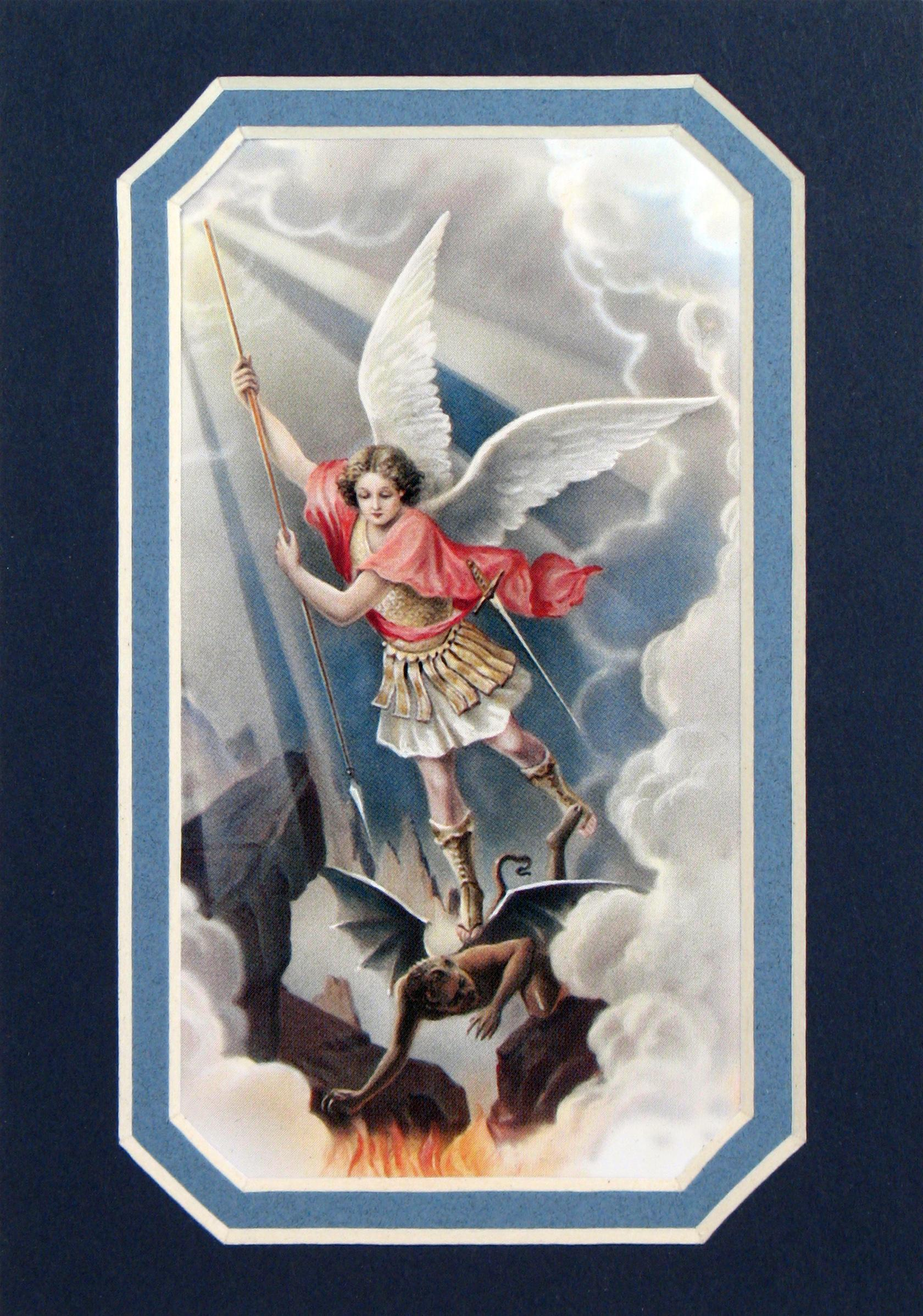 St. Michael 3x5 Prayerful Mat #35MAT-STM