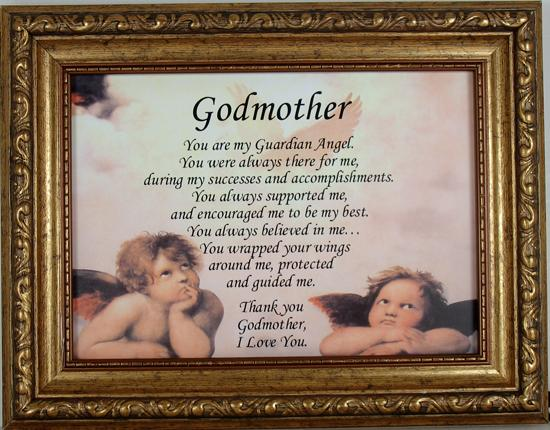 Goddmother You are My Guardian Angel #57F-GA-GM