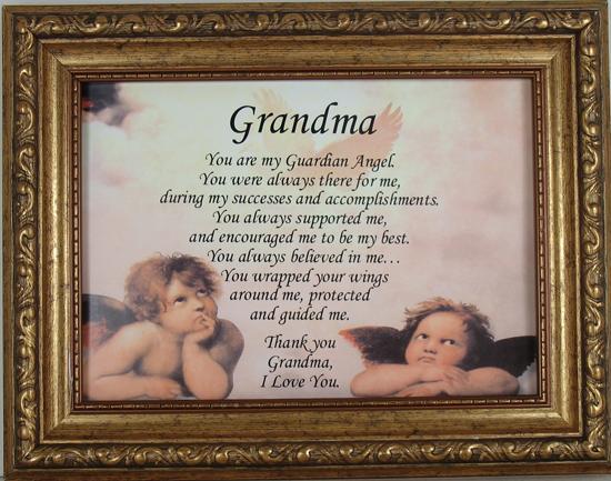 Grandma You are My Guardian Angel #57F-RA-GRM