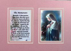 Mystical Rose 5x7 Mat with Prayer #57MAT-MR2