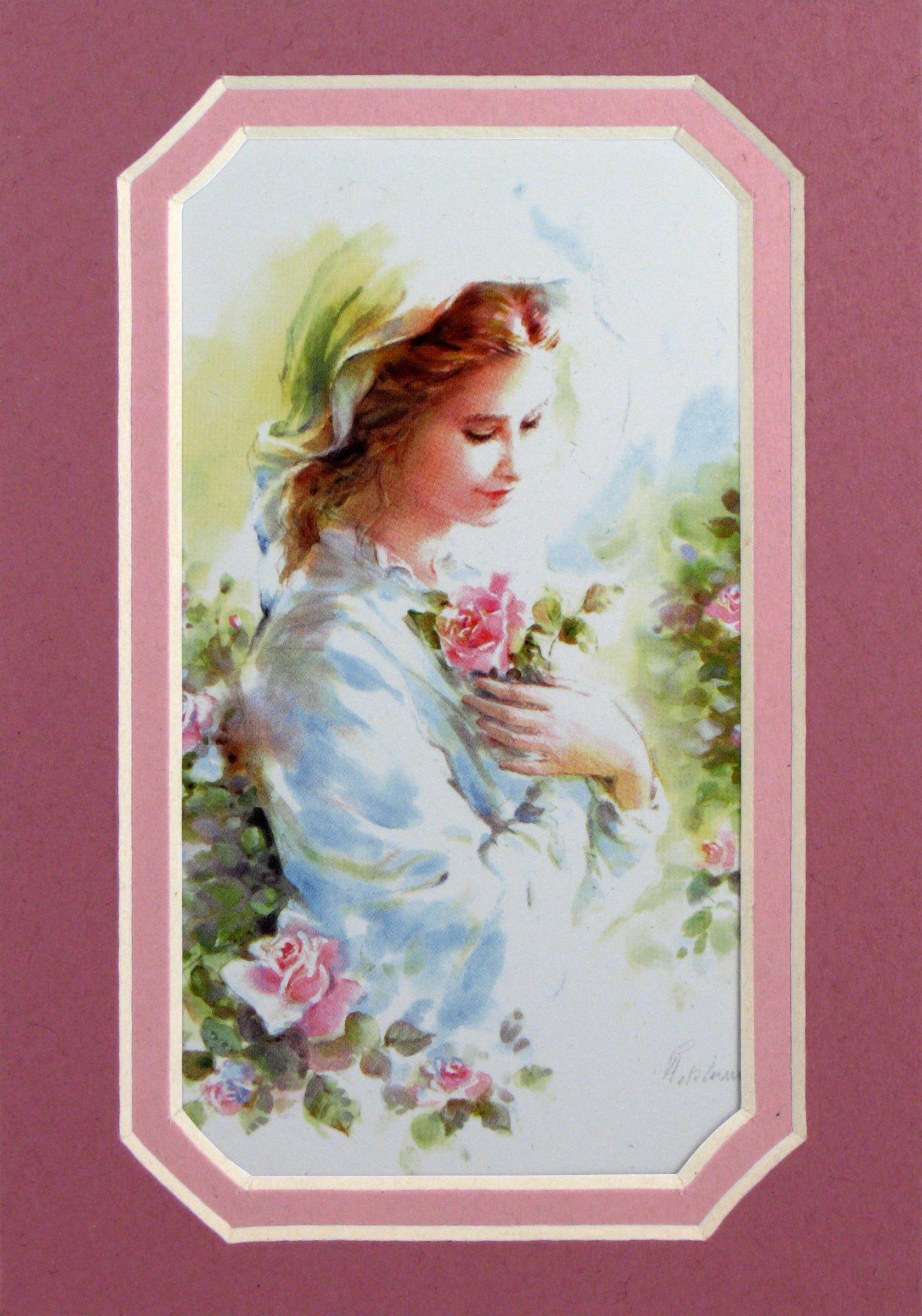Mystical Rose 3x5 Prayerful Mat #35MAT-MR