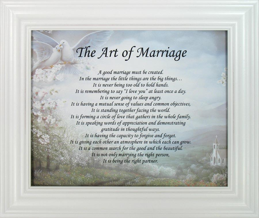 Art of Marriage Plaque #810F-AM