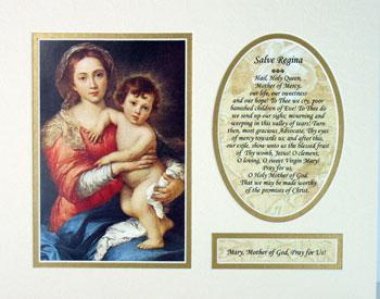Madonna and Child 8x10 Ready to frame mat #810M-MC3