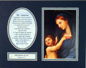 Madonna and Child 8x10 Ready to frame mat #810M-MC5