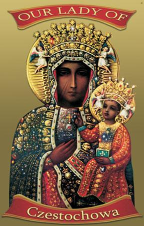Our Lady of Czestochowa Blanket #COV-OLCz