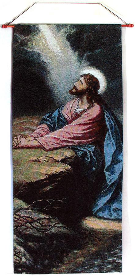 Agony in Garden 18x40 Wall Hanging #1840-AG