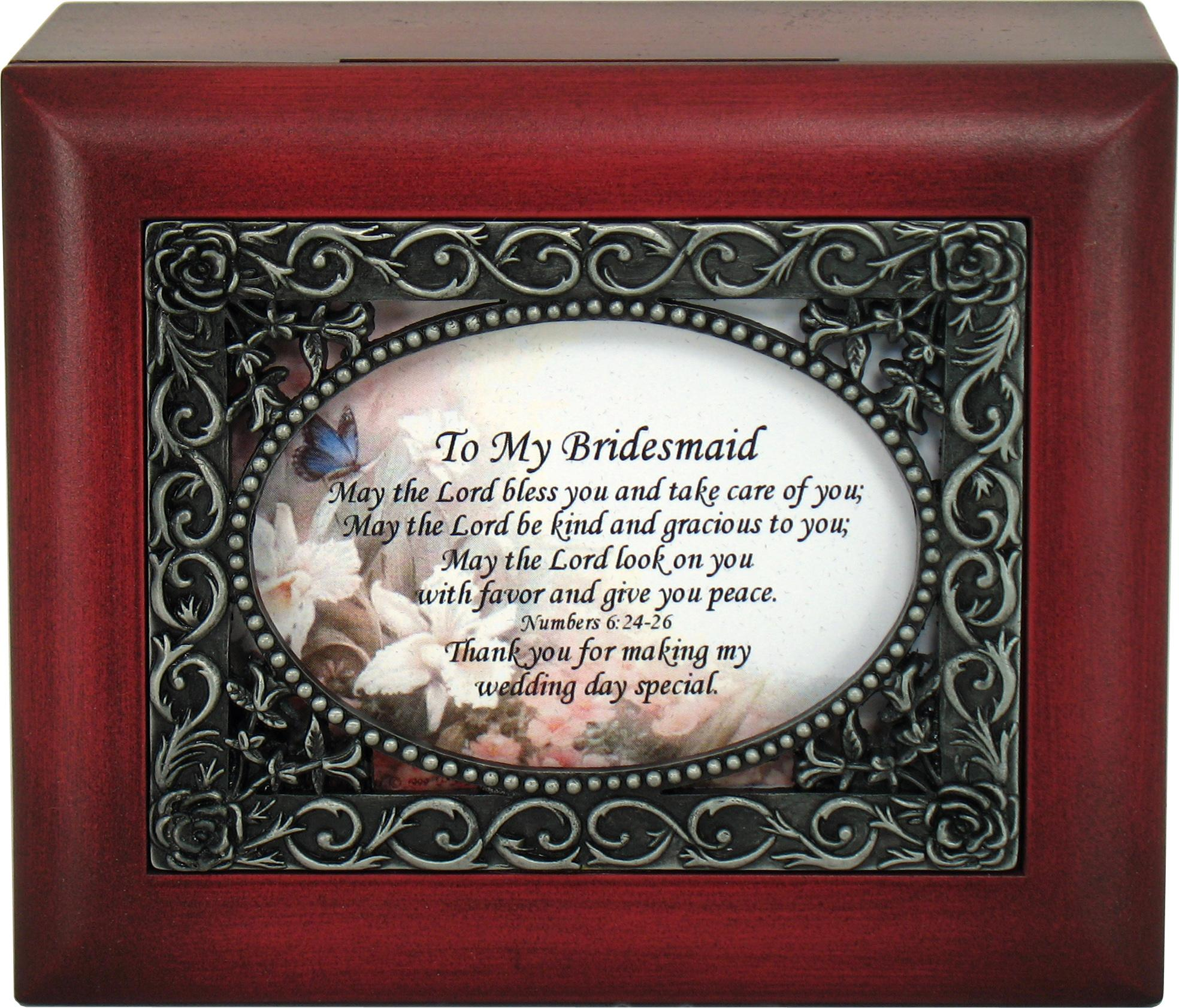 Bridesmaid Keepsake Box #SJBX-BM