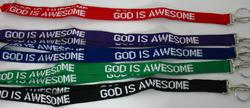 God is Awesome Lanyard #LAN-GIS
