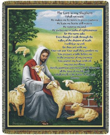 Good Shepherd Blanket #COV-GS