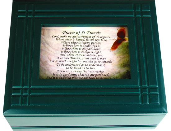 Prayer to St. Francis Keepsake Box #4SJBX-PSTF