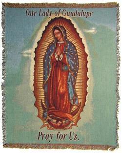 Guadalupe Blanket #COV-G