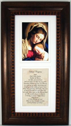 Madonna and Child Bronze Frame #4624-MCB
