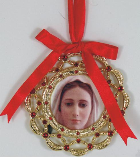 Our Lady of Medjugorje Ornament 1404-MJ