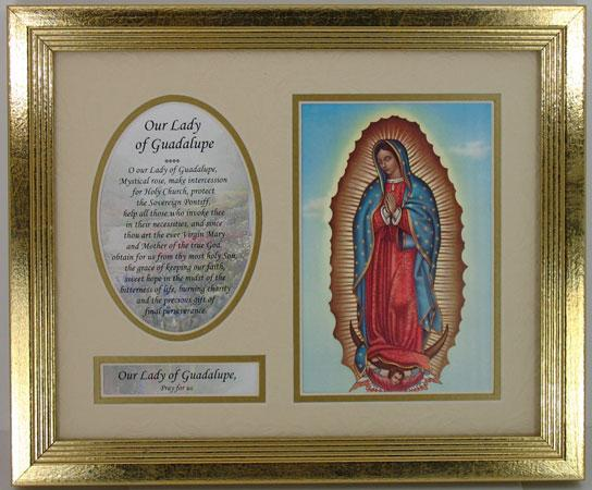 Our Lady of Guadalupe Plaque #MFS-G