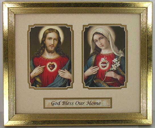 House Blessing Plaque Matted  #MFS-HB7