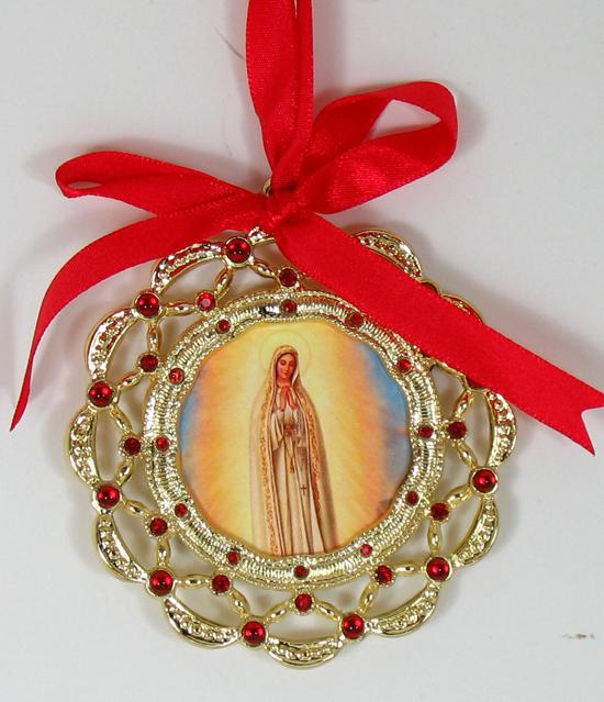 Our Lady of Fatima Ornament 1404-OLF