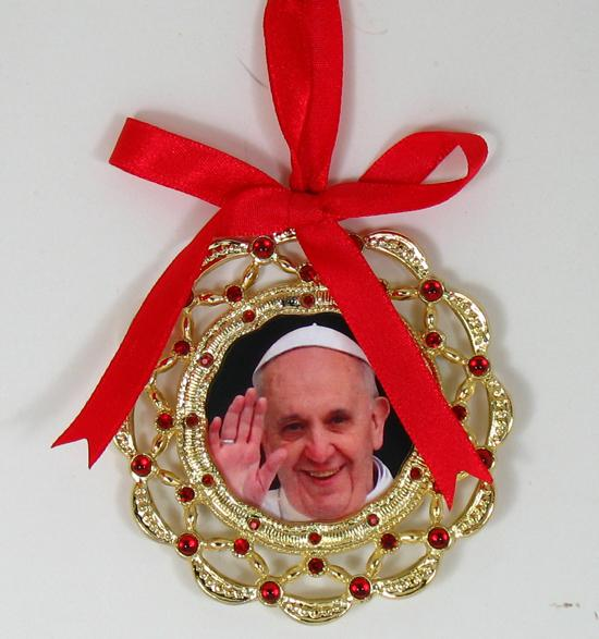 Pope Francis Ornament 1404-PH