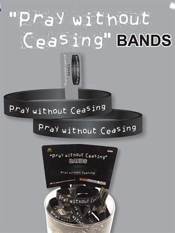 Pray without Ceasing Bands BR151