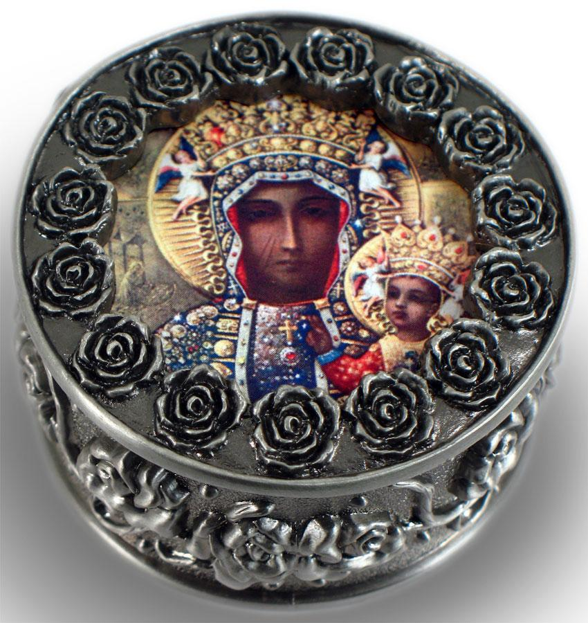 Our Lady of Czestochowa Rosary Box #PRBX-OLCz