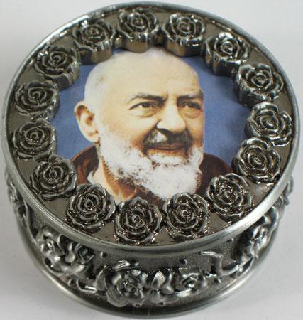Padre Pio Rosary Box #PRBX-PP