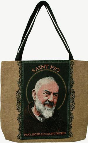 Saint Pio Tote Bag #TB-PP