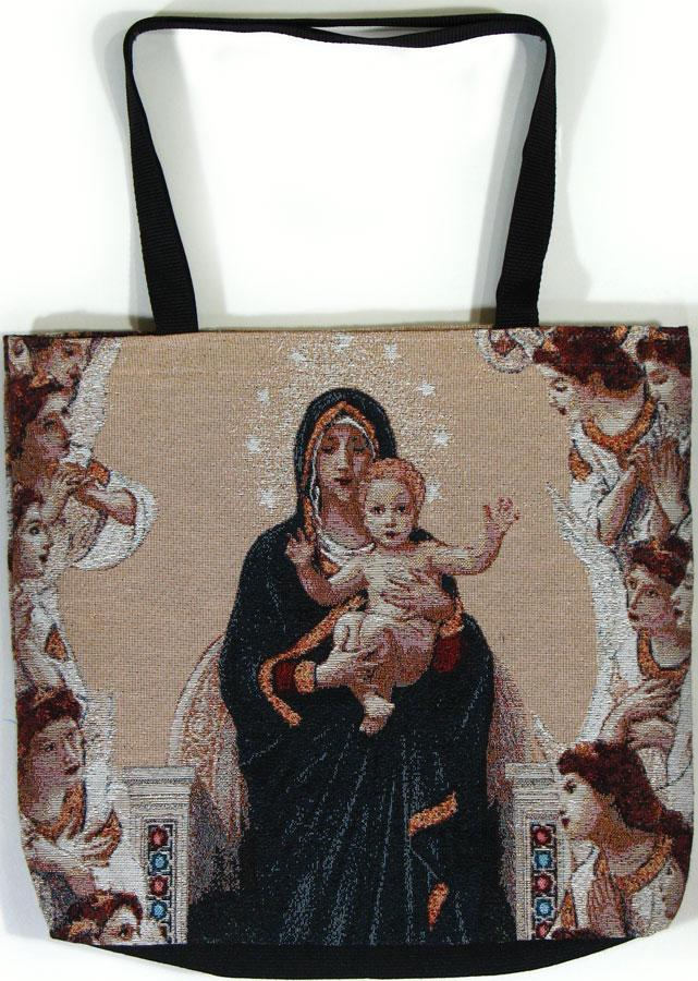 Our Lady of the Angels Tote Bag #TB-QA