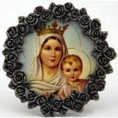 Mount Carmel Mini Pewter Frame #MPF-MTC