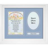 Personalized Newborn Baby Boy  9x12 Plaque 10102