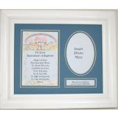 Noah's Ark Baptism Plaque for Boy 11102