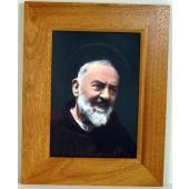 Padre Pio 5x7 Frame #1057F-PP