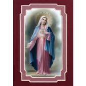 Immaculate Heart of Mary 3x5 Prayerful Mat #35MAT-IHM3