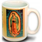 Our Lady Guadalupe Mug 15 Ounce #150G