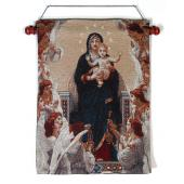 Queen of Angels 13x18 Tapestry Wall Hanging #1318-QA