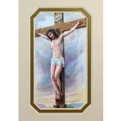 Crucification 3x5 Prayerful Mat #35MAT-CRX