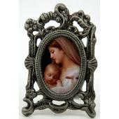 L'Innocence Mini Oval Pewter Frame #MOPF-IN