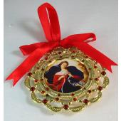 Our Lady Undoer of Knots Ornament #1401-OLK